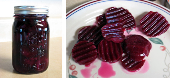 how to use pickled beets