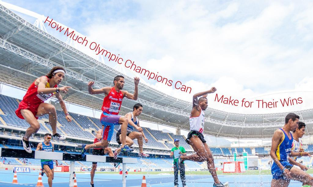 how much olympic athletes can earn for wins