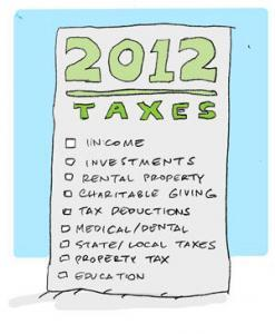 2012-taxes-checklist