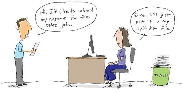 Resume Cartoon