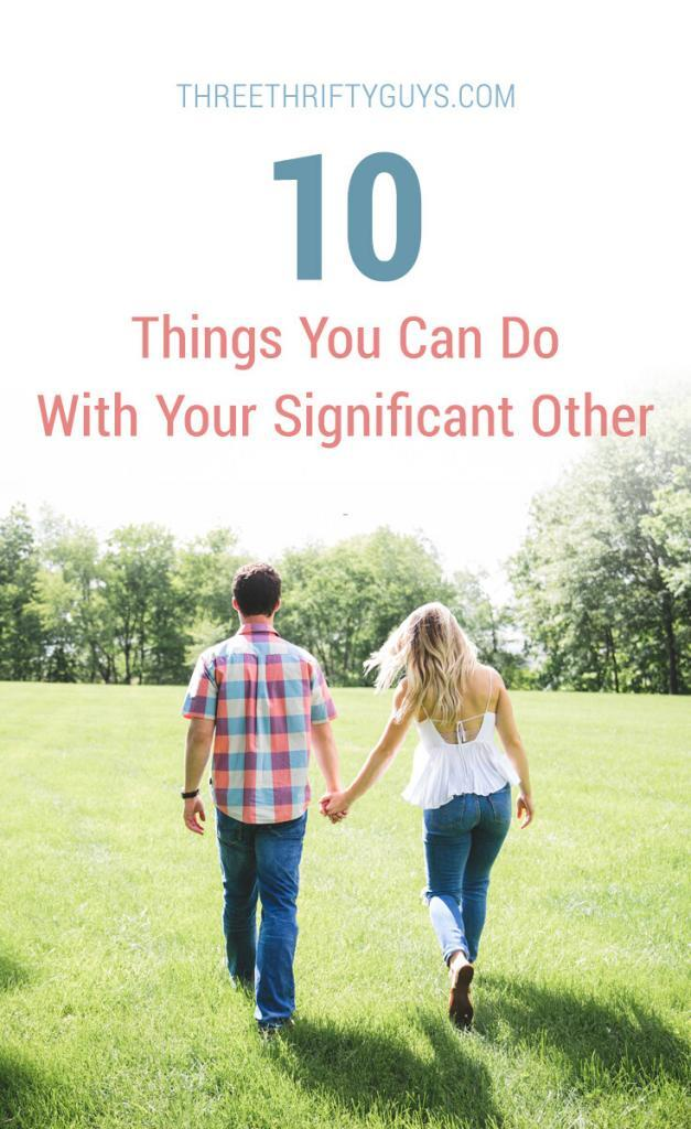 10 things you can do with your significant other