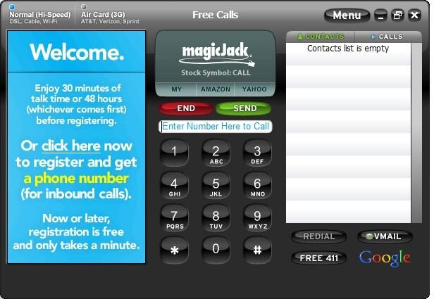 magicjack talk free