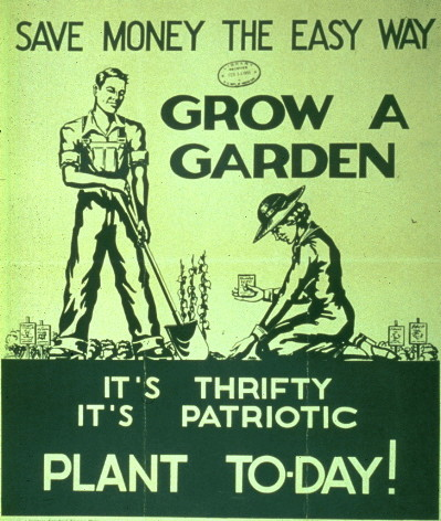 12 money saving tips from the great depression garden three thrifty guys - Money saving tips in gardening ...