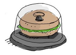 bagel sandwich tote