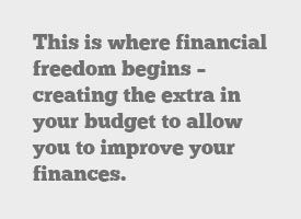 financial freedom budget