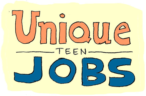 unique summer jobs for teens