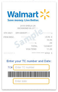 savings catcher receipt