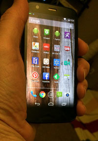 My Moto G cell phone