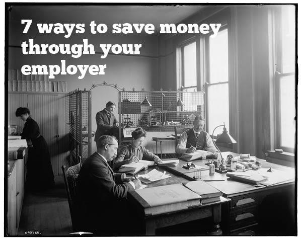 save money through employer
