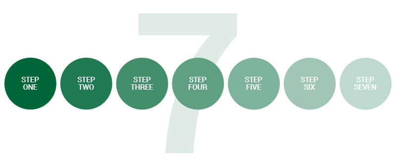 7 step money flow system