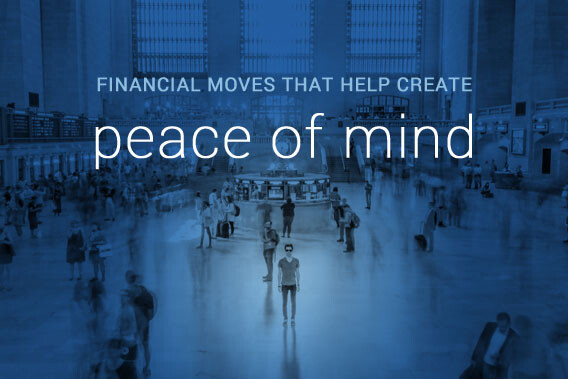 financial moves that create peace of mind