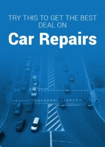 get the best deal on car repairs