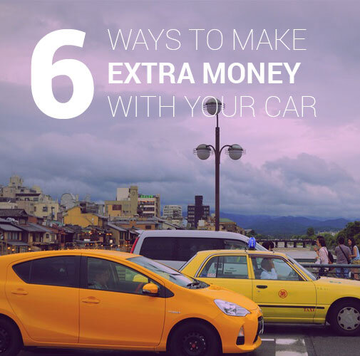 ways to make money with your car