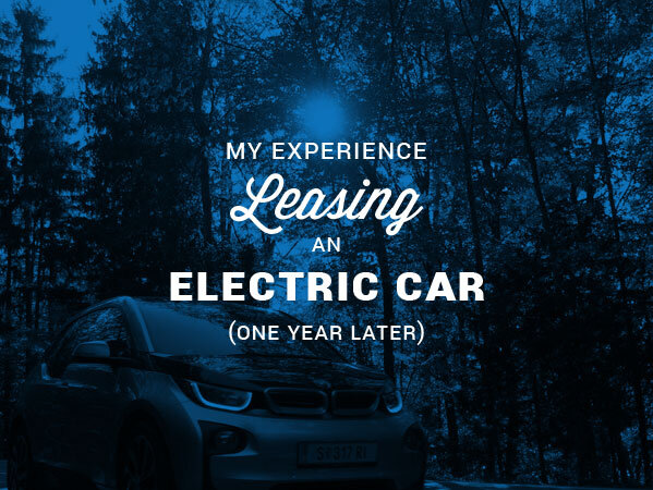 leasing an electric car
