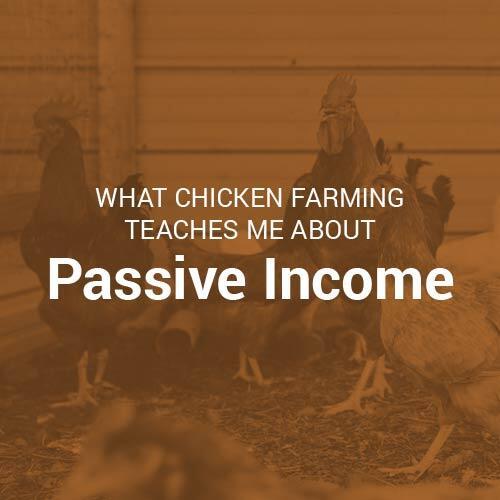 chicken farming and passive income