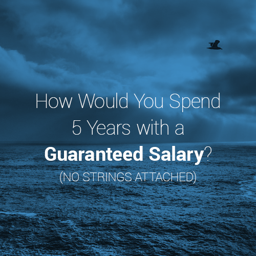 guaranteed salary