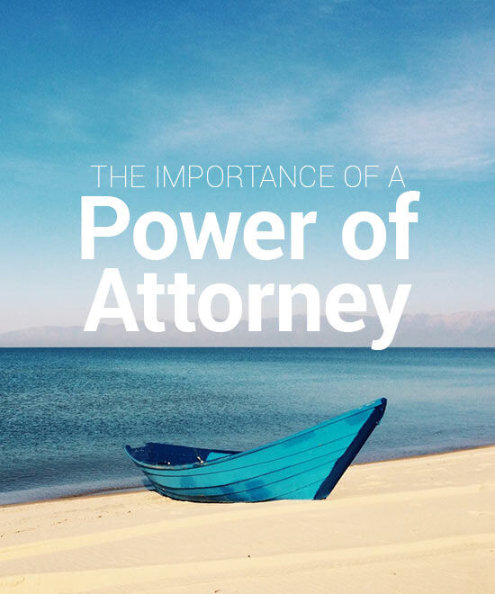 importance of a power of attorney