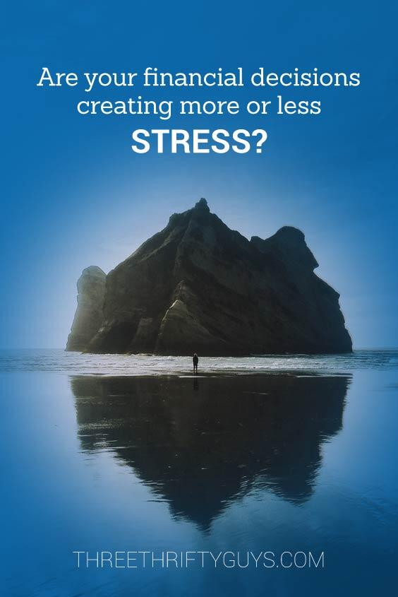 financial decisions and stress