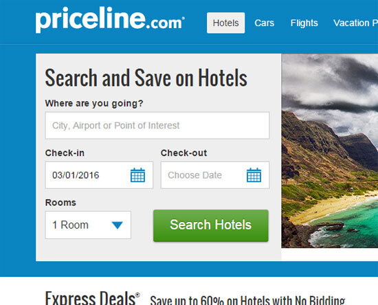 priceline hotel deals