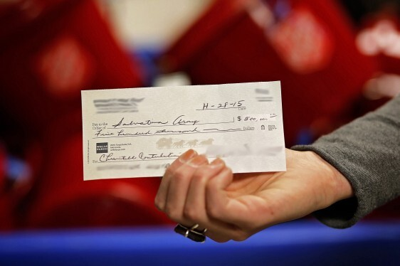 What Are Some Of The Biggest Checks Ever Written