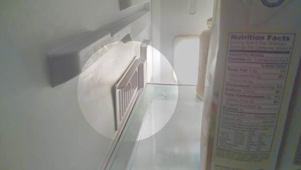 vents in the fridge