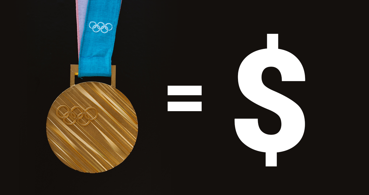 Olympic athletes can earn how much from earnings?