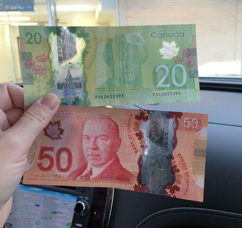 canadian cash