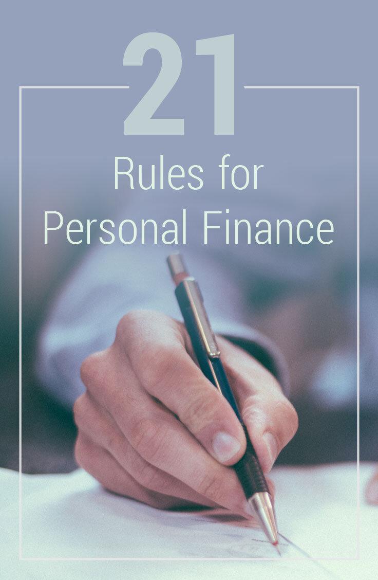 personal finance rules financial tips tricks finances goals money three card threethriftyguys than