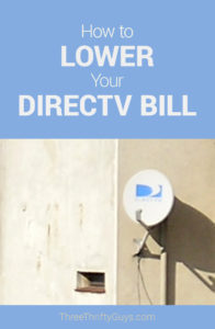 lower directv bill