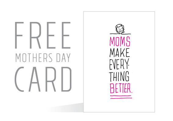 image regarding Printable Mothers Day Pictures called Totally free Printable Moms Working day Card Spouse and children Entertaining A few