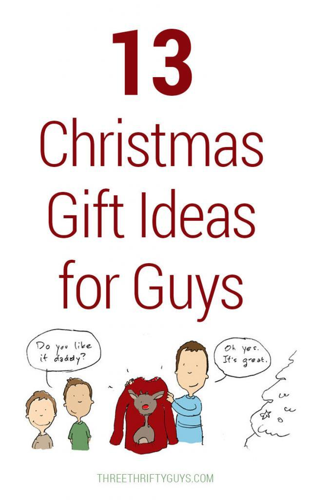 Christmas gift ideas for thrifty guys
