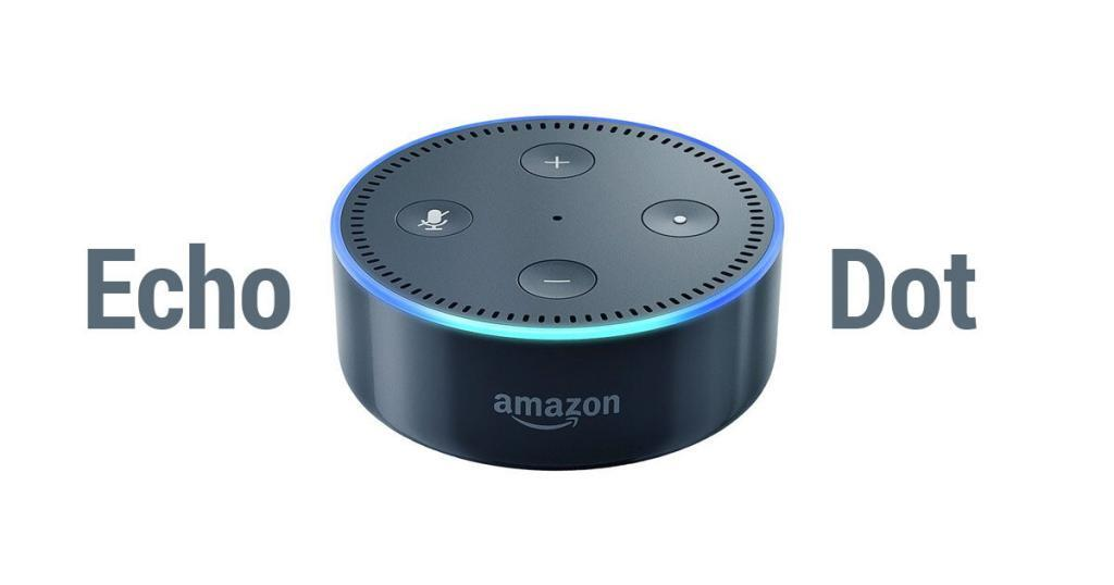 amazon echo dot review a look at this voice controlled. Black Bedroom Furniture Sets. Home Design Ideas