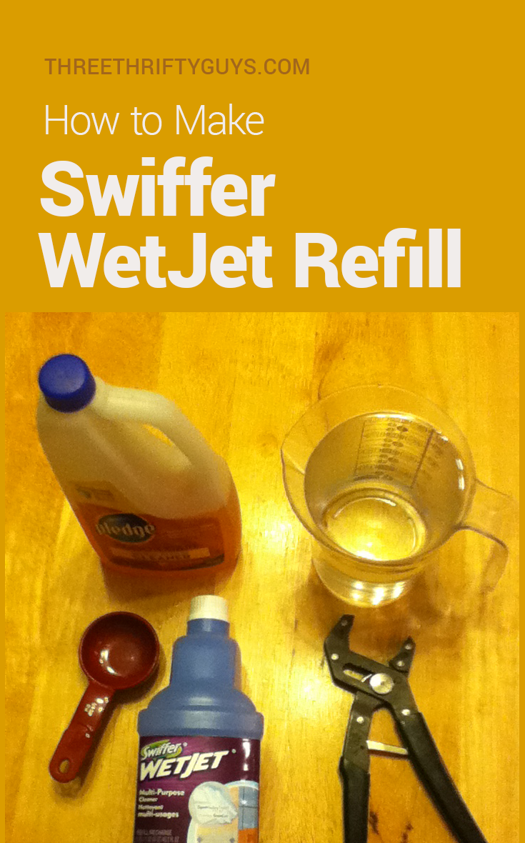 How To Make Swiffer Wet Jet Refill Frugal Tips Three
