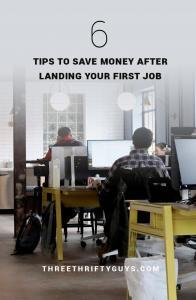 6 tips after landing first job
