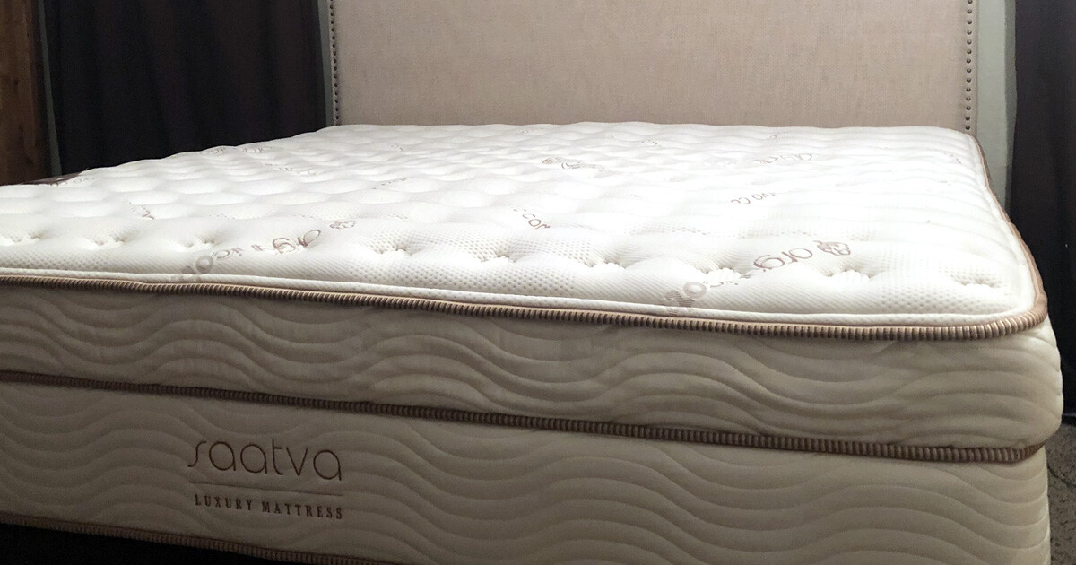 saatva mattress review is it a good mattress health three thrifty guys. Black Bedroom Furniture Sets. Home Design Ideas
