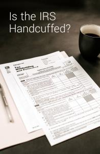 irs handcuffed to offer better services