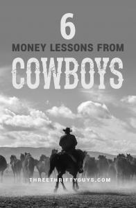 money lessons from cowboys