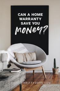 home warranty save money